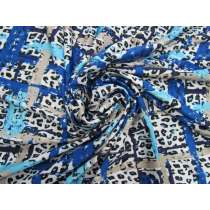 Animal Party Slinky Jersey- Blue #4286
