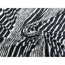 Scribble Stripe Slinky Jersey #4291