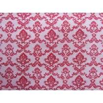 Florence Broadhurst- Avant Garde Cotton- Red #4305