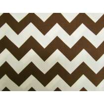 Le Creme Chevron Cotton- Brown C640-90