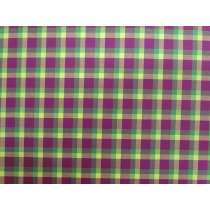 Lanna Woven Cotton- Song of Nature Check