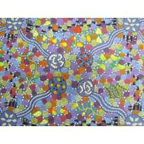 Corroboree Cotton- Blue