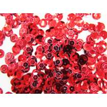 24gm Sequin Pack- Red- 10mm #011