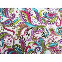 Dog On It Cotton- Paisley Multi #4323