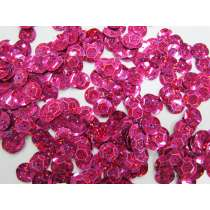 24gm Sequin Pack- Holographic Pink- 10mm #021