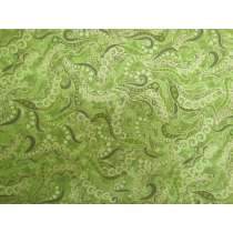 Dog On It Cotton- Paisley Green #4325