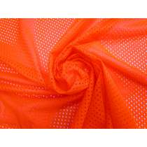 Basketball Mesh- Fluro Orange #4333