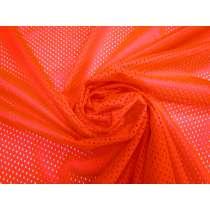 Basketball Mesh- Fluro Coral #4336