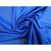 Eyelet Mesh- Royal Blue #4337