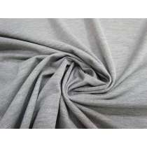Wide Cotton Blend Knit- Cloudy Grey #2155