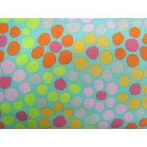Brandon Mably Flower Dot- Aqua