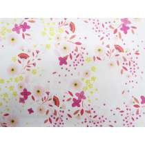 Petal Dance Cotton- White #PW1079