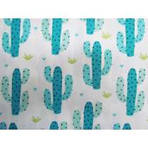 Cute Cactus Cotton #PW1095