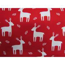 Festive Reindeer Cotton #PW1098
