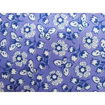 Butterfly Garden Cotton- Purple #PW1073