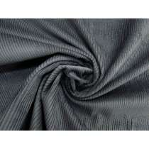 7 Wale Cotton Corduroy- Slate Grey #4369