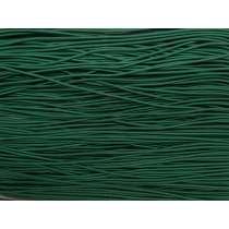 2mm Round Elastic- Emerald Green #1020M
