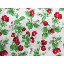 Fresh Strawberries Cotton #PW1067