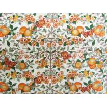 Liberty Cotton- Orchard- Orange- The Orchard Garden Collection