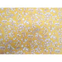 Liberty Cotton- Fruit Silhouette- Yellow- The Orchard Garden Collection