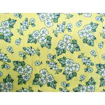 Summer Floral Cotton- Lemon #PW1062