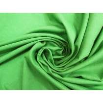 Italian Linen With Reversible Metallic Silver- Green #4403