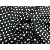 Polka Dot Silk Cotton Voile #4416