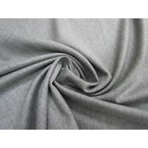 Wool Cotton Blend Lightweight Twill- Worn Grey #2337