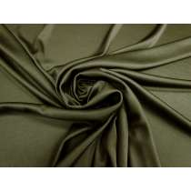 Shiny Slinky Jersey- Dark Khaki #4420