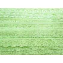 Stretch Lingerie Lace- Lime Splice #127
