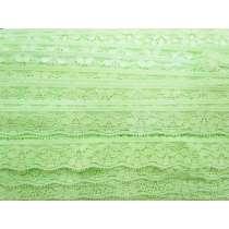 Stretch Lingerie Lace- Lime Splice #127