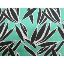 Shady Palms Cotton- Mint Green #PW1147