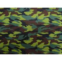 Camo Cotton- Jungle Green #PW1127