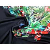 Paradise Floral- 110cm Panel Double Knit #2362