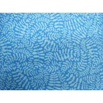Soft Ferns Cotton- Blue #PW1002