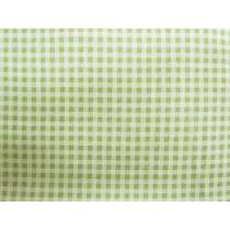Green Gables Gingham Cotton #PW1106
