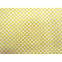 Lemon Drop Spot Cotton #PW1007