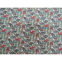 Liberty Cotton- Yorkshire Meadow- Flower Show Winter Collection