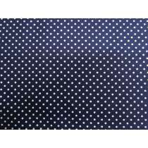 Simple Tiny Spot Cotton- Navy #PW1015