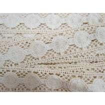 37mm Lunar Look Cotton Lace Trim #138