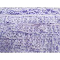 30mm Polka Dot Lace- Purple #462