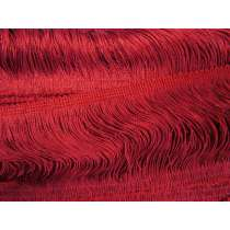 10cm Fringe- Ruby Red #463