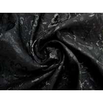 Shadow Flower Jacquard- Black #4480