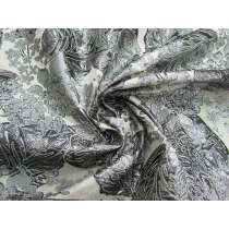 Silver Embossed Garden Jacquard #4487
