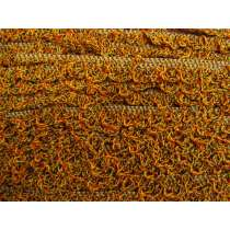 20mm Crochet Look Ruffle Elastic Trim- Autumn Leaves #174