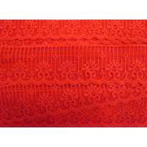 50mm Lady in Red Lace Trim #165