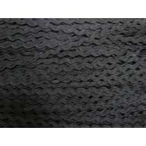 6mm Designer Ric Rag Trim- Black #184