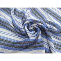 Blue Skies Stripe Mesh #4522