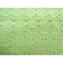 40mm Tropical Lime Cotton Lace Trim #194