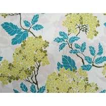 Birch Farm Cotton- Hydrangea- Sage